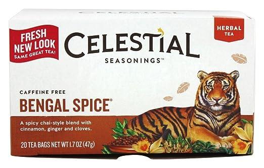 Celestial Seasonings Bengal Spice Herb Tea, 20 CT (Pack of 2)
