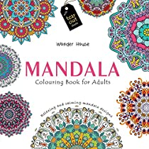 Mandala Colouring Books For Adults With Tear Out Sheets Adu