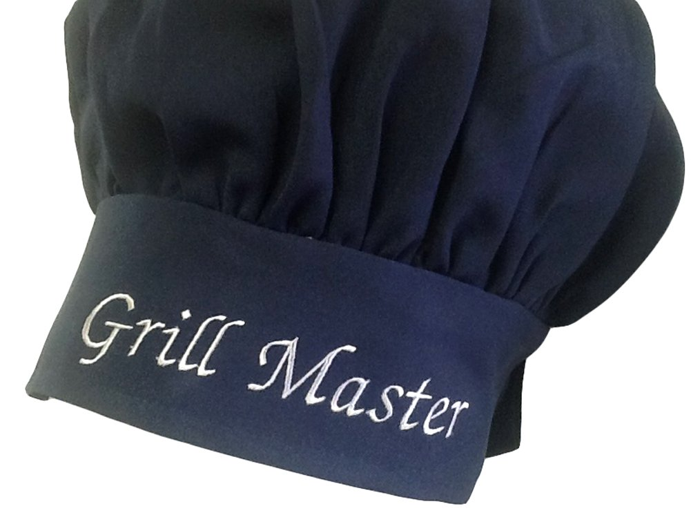 CHEFSKIN Personalized Custom Black Chef Hat Adjustable Makes a Great Gift! by CHEFSKIN
