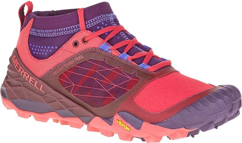 Merrell - Zapatillas para Correr en montaña para Mujer Morado Wild ...