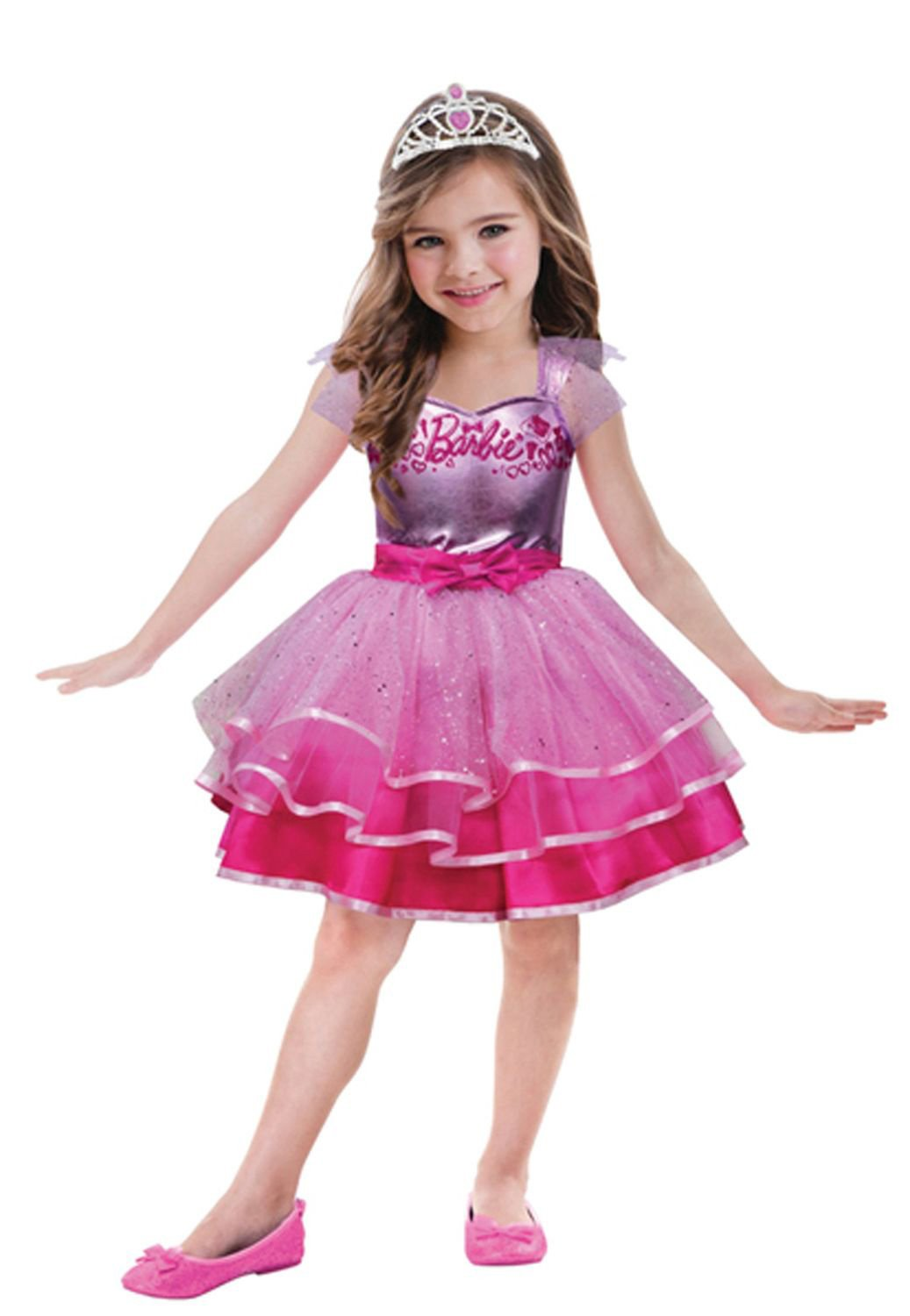 Barbie Ballet Costume to Fit (3-5 Years): Amazon.co.uk: Toys & Games