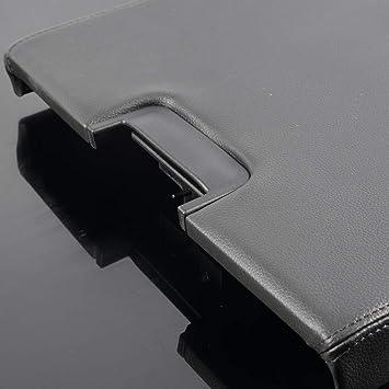 Fits Chevy GMC Silverado Sierra Tahoe Black Center Console Armrest Latch Lid