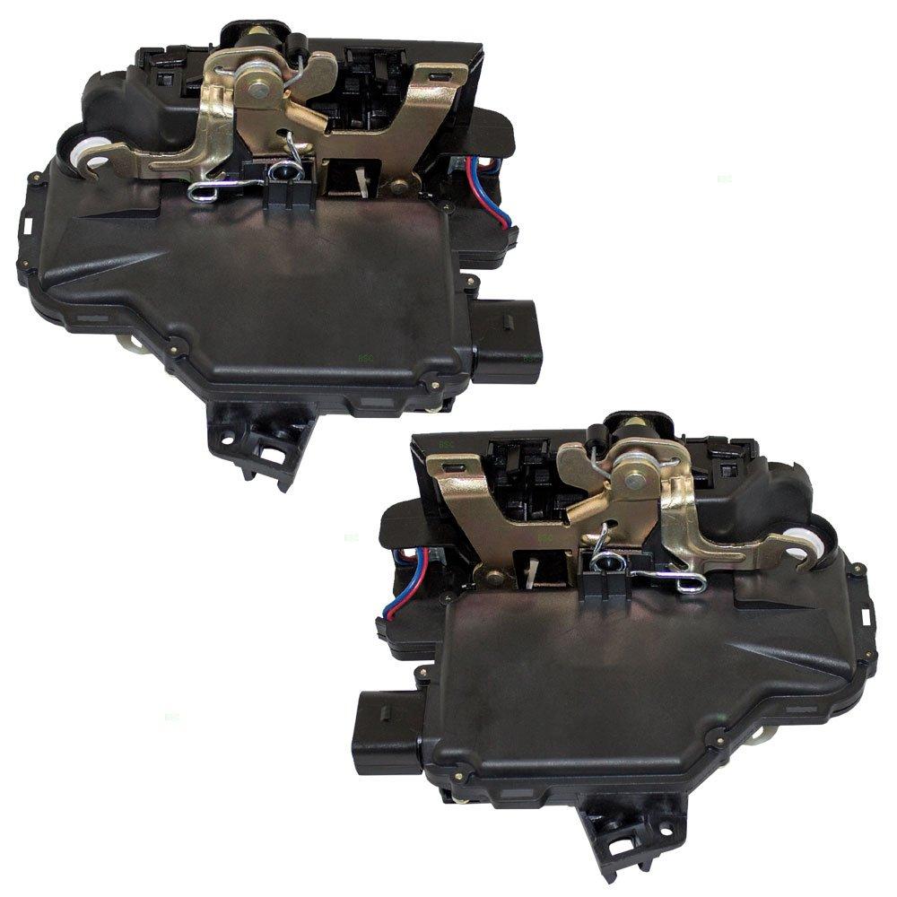 Driver and Passenger Front Door Lock Actuators Replacement for Volkswagen 3B1 837 015 AS 3B1 837 016 CF