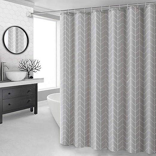 JameStyle26 Duschvorhang waschbar Vorhang Digitaldruck inkl ...