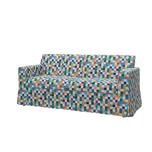 Soferia - IKEA SANDBY Funda para sofá de 3 plazas, Mozaik ...