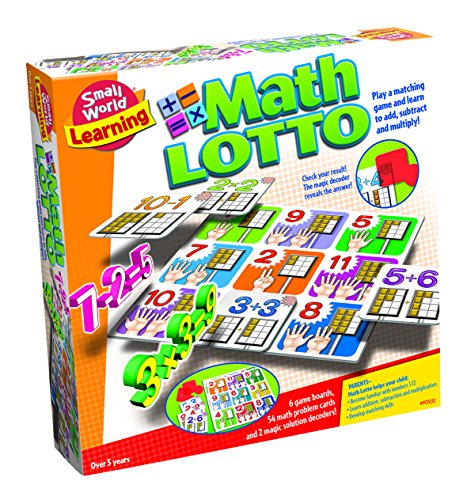 Small World Toys Learning - Math Lotto Matching Game ()