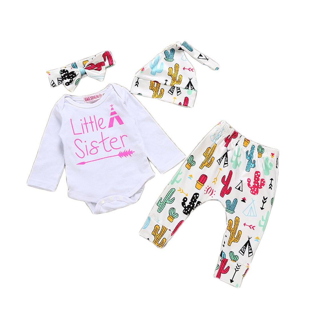 hesheng PANTS Sister ベビーガールズ 90/12-18months Little B0762JRDKL Sister PANTS B0762JRDKL, ホクリュウチョウ:48298620 --- sharoshka.org