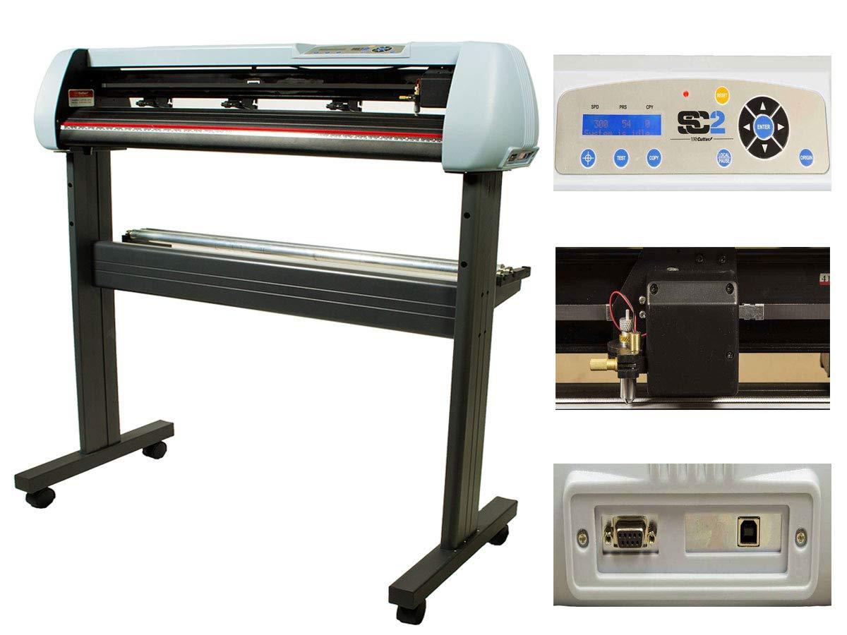 USCutter 28'' Vinyl Cutter Cutting Plotter + Stand + VinylMaster Software - Contour Cut w SC2
