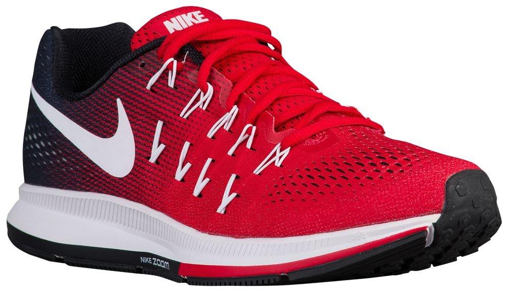 [ナイキ] Nike Air Zoom Pegasus 33 - メンズ ランニング [並行輸入品] B072FRJ35V US11.0 University Red/White/Black/Pure Platinum