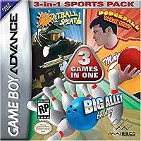 Paquete deportivo Dodge Ball /Bowling /Paintball 3 en 1 - Game Boy Advance