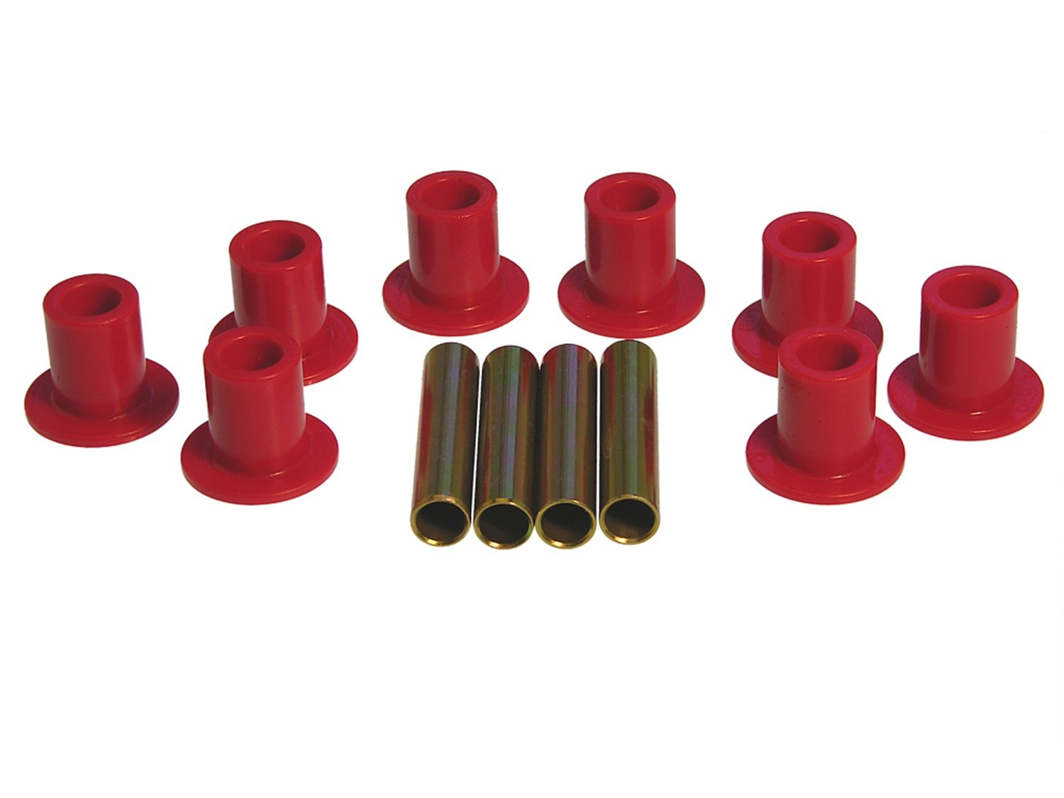 Prothane 4-1005 Red Spring Eye Bushing Kit with 1' ID Spring Eye