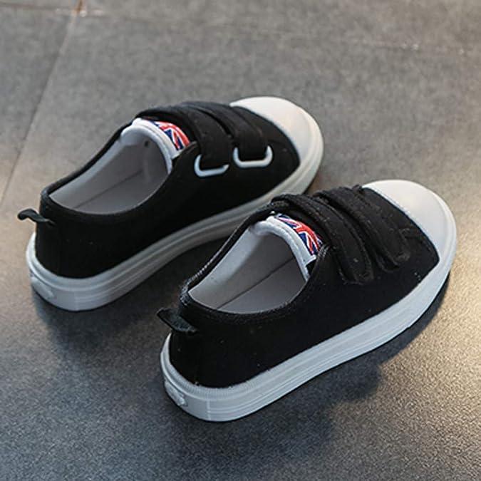 ❤ Chaussures Enfant en Bas b/éb/é,LHWY Baskets Respirantes Couleur Maille pour Enfants Sneakers de Toile d/écontract/ées pour Enfants 4-7 Ans