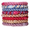 L. Erickson Ponytail Holders - Set of Eight