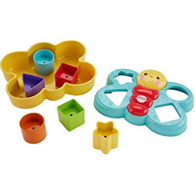 Fisher-Price Butterfly Shape Sorter: Toys & Games