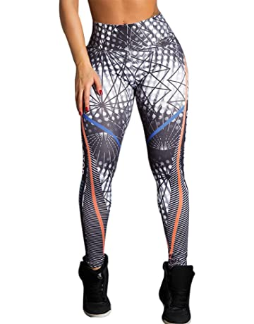 HTDBKDBK Yoga Pants, Women Dont Stop Letter Print High Waist Yoga Fitness Leggings