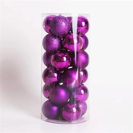 Buy SUPVOX 40pcs Multicolor Decorative Theme Pack Of Exquisite Impressive Purple Decorative Balls