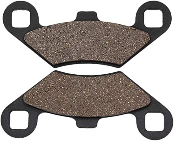 Cyleto Front and Rear Brake Pads for POLARIS 800 Sportsman Big Boss//EFI 6x6 EFI 2009 2010 2011 2012