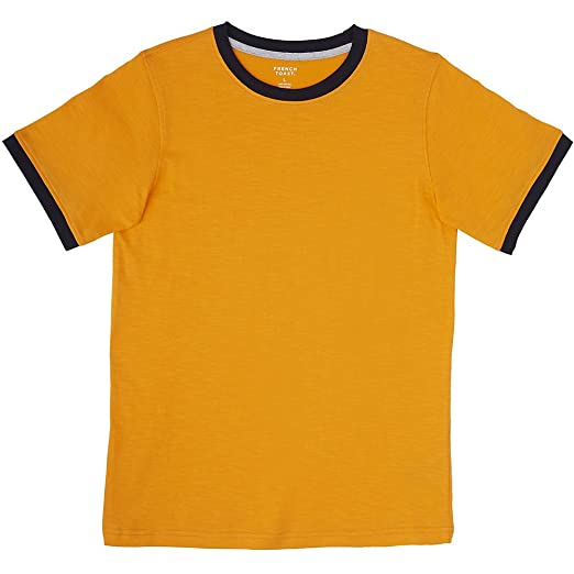 1940s Children's Clothing: Girls, Boys, Baby, Toddler French Toast Boys Short Sleeve Ringer Crew Neck Tee Shirt $9.99 AT vintagedancer.com