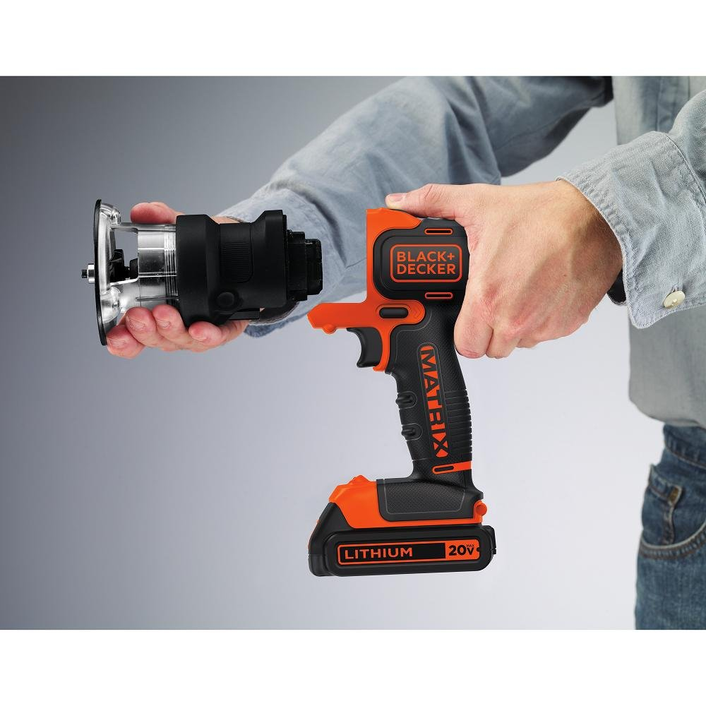 black and decker tools. black + decker bdcmtr matrix router attachment: amazon.ca: tools \u0026 home improvement black and decker m