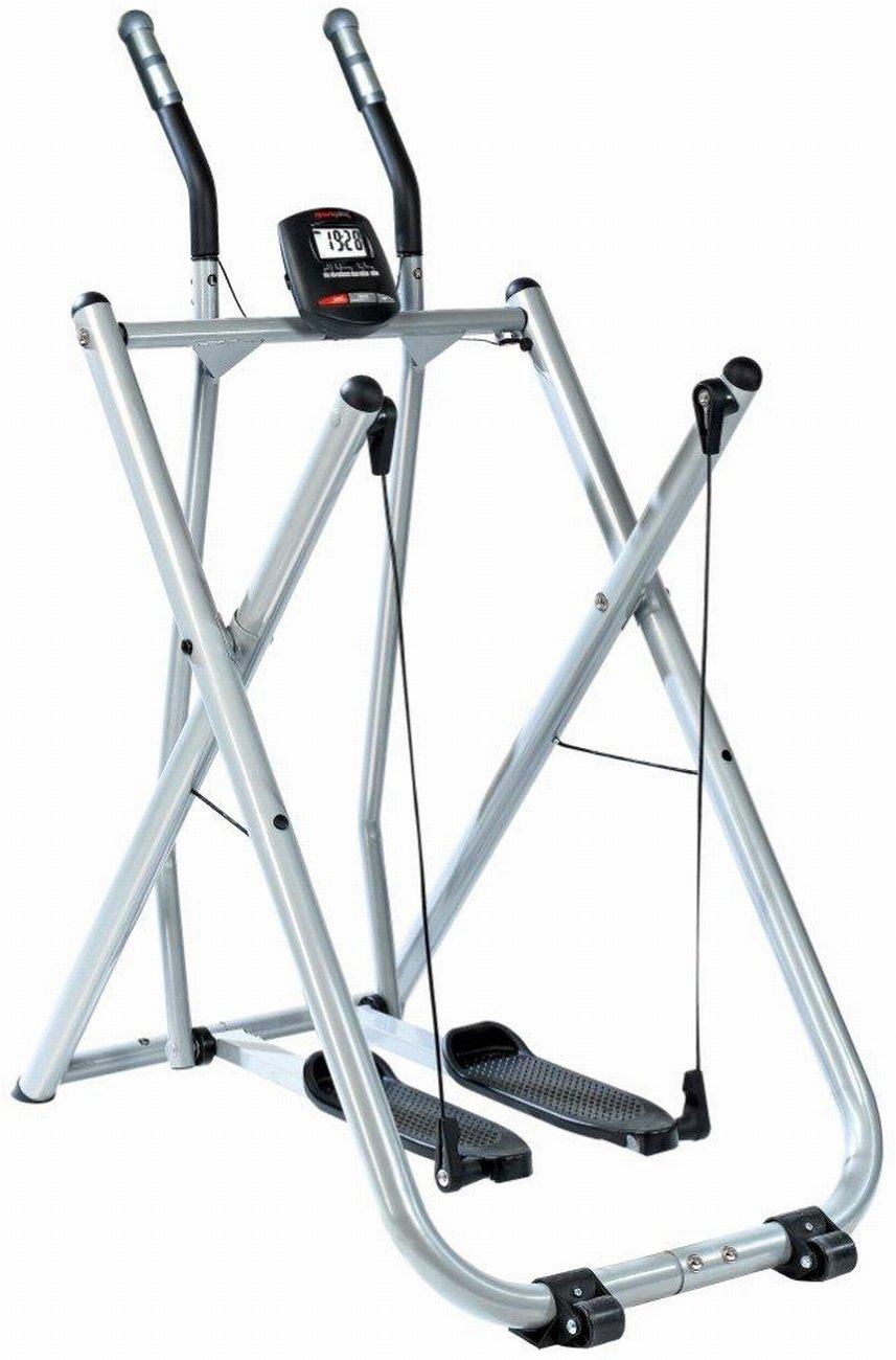 SportPlus SP-NW-004 - Crosstrainer / Nordic Walker / Stepper Marche Nordique - Ordinateur de Contrôle - Pliable et ultra Compact - Poids de l'Utilisateur jusqu'à 100kg - Normé EN ISO 20957