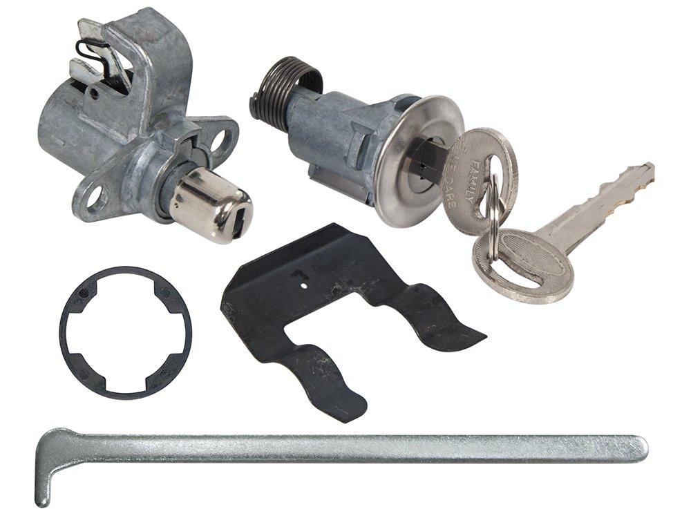 New 1969-71 Ford Mustang, Galaxie, Torino, Mercury Monterey Glove Box Trunk Lock Set with Keys (D1AZ-6543507A) Auto Krafters