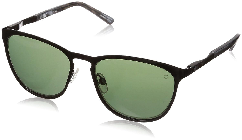 877e6f47ab9 SPY CLIFFSIDE BLACK BLACK MARBLE - HAPPY GRAY GREEN SUNGLASSES at Amazon  Men s Clothing store