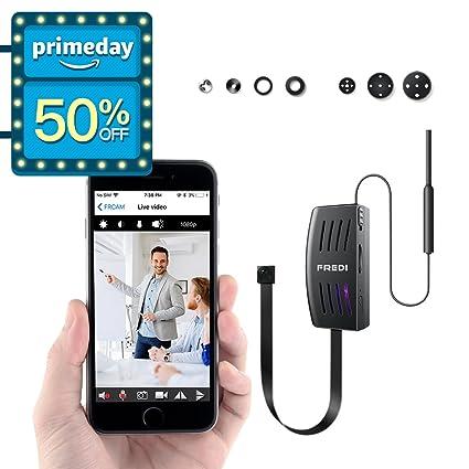 Mini cámara Fredi HD 1080P Wifi Portátil Pequeño de red IP cámara Mini cámara P2P inalámbrico