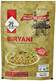 Organic Ready to Cook Biryani, 400 Gm (Pack of 2 X 200 Gm), Serves 8, Ready in 15 Min Briyani - 24 Mantra Organic