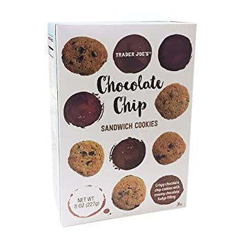 Image result for trader joe's chocolate chip sandwich cookies