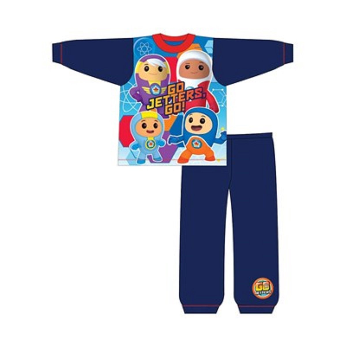 BOYS SESAME STREET THE FURCHESTER HOTEL PYJAMAS AGE 18-24 months to 4-5 years