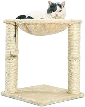 Amazon.com: AmazonBasics rascador y hamaca para gatos: Mascotas