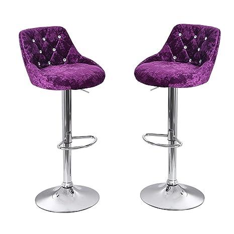Miraculous Amazon Com Ckxzui Counter 360 Degree Swivel Adjustable Bar Andrewgaddart Wooden Chair Designs For Living Room Andrewgaddartcom
