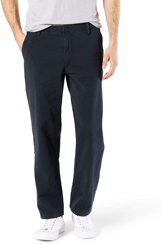 Dockers Mens Big /& Tall Big and Tall Downtime Khaki Smart 360 Flex Pants