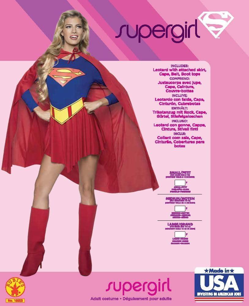 Rubies P15553M - Disfraz de Supergirl, talla M: 38: Amazon.es ...