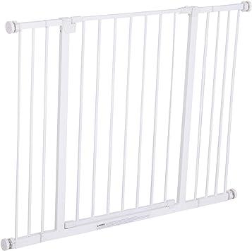 Pawhut Barrera de Seguridad Extensible Puertas y Escaleras ...