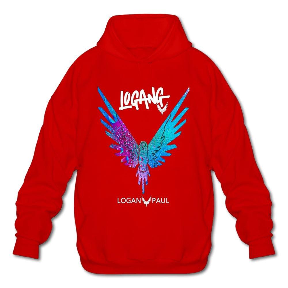 Logan Logang Parrot Logo Sweatshirt Be A Maverick Graphic Black