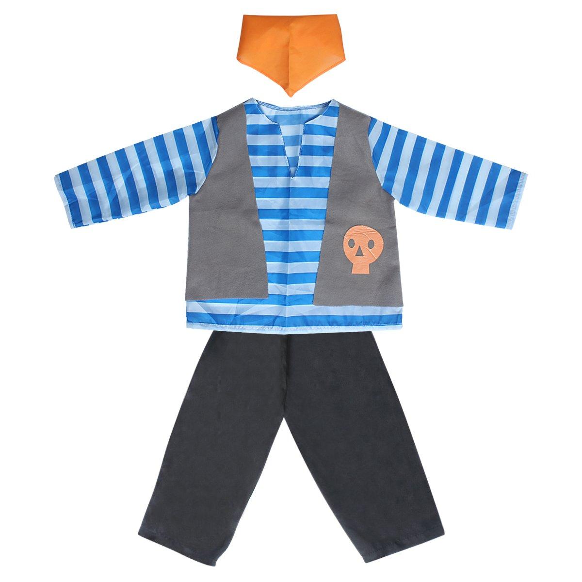 Amazon.com: Sinuo - Conjunto de disfraz para niño, juego de ...