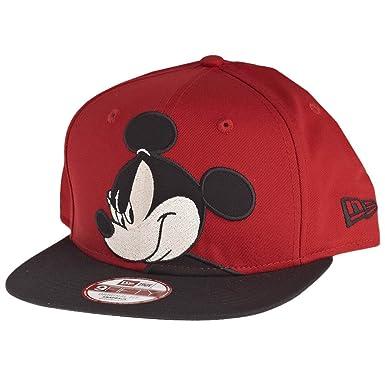 Gorra New Era – 9Fifty Disney Over Logo Mickey Mouse Rojo/Negro M ...