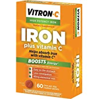 Vitron-C Coated Tablets 60 Tablets (Pack of 3)
