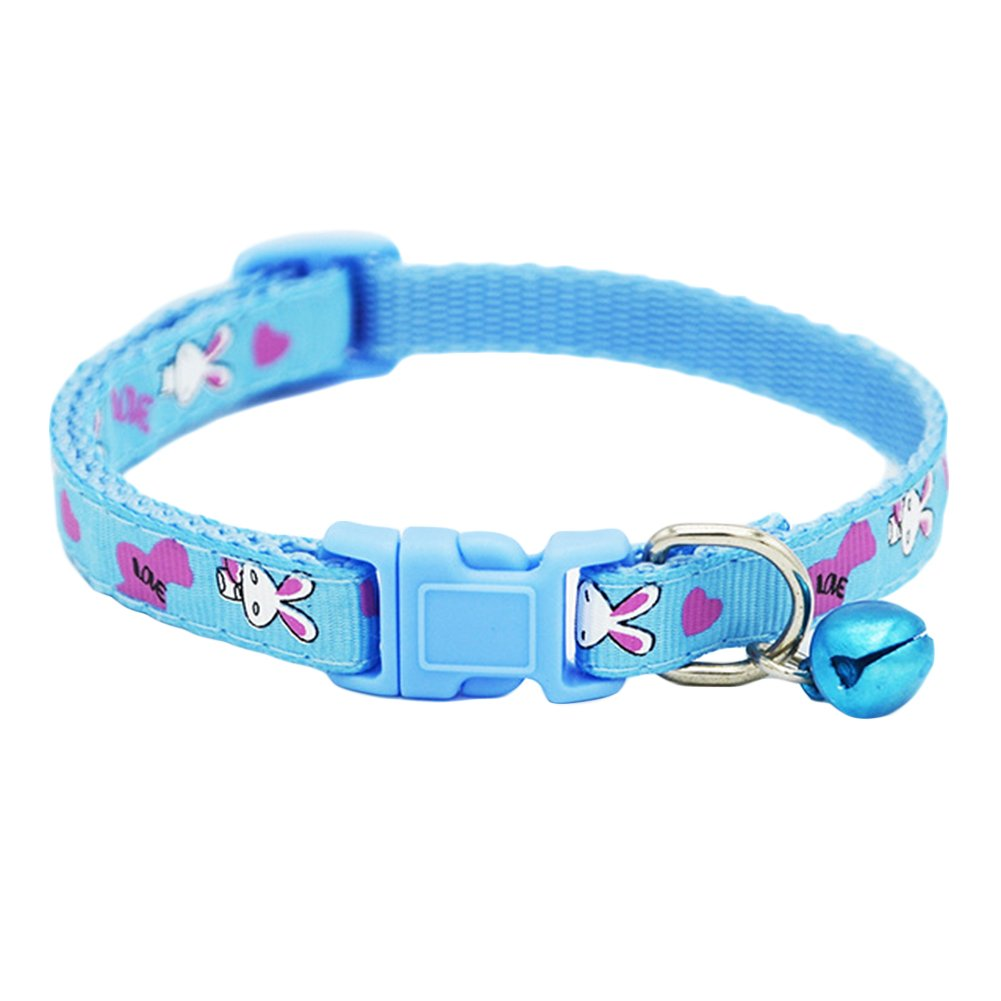 HEART SPEAKER Quick Release Buckle Cat Puppy Dog Collar Necklace