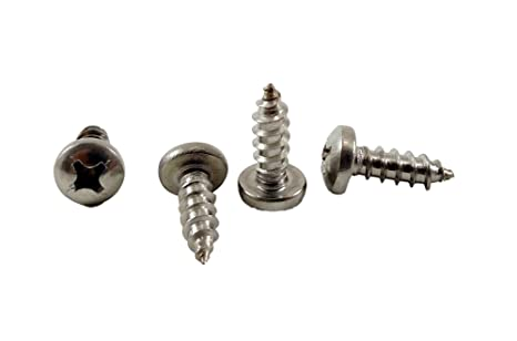 1//2 to 2 lengths in Listing #6 x 1-1//4 inch 100 Sheet Metal Screws #6 x 1-1//4 Stainless Philips Pan Head Sheetmetal Screw