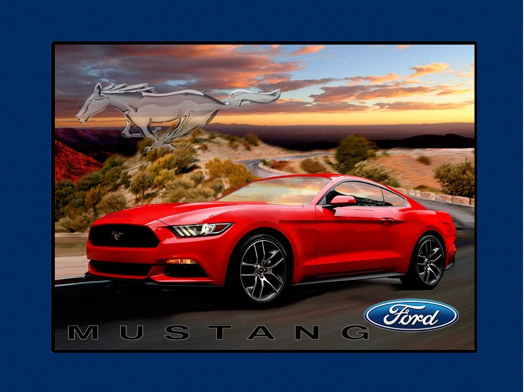 Amazon com ford mustang cotton fabric panel ford mustang quilting panel black or red mustang red mustang