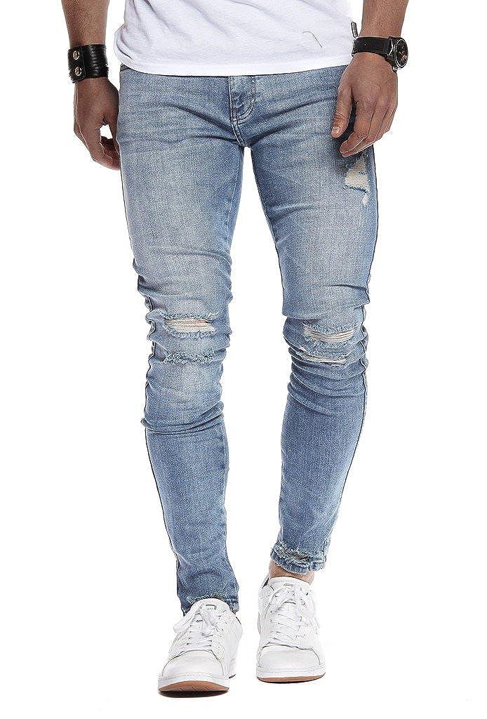 LN9145 LEIF NELSON Herren Jeans Hose Slim Fit Denim Blaue graue Lange Jeanshose f/ür M/änner Coole Jungen wei/ße Stretch Freizeithose Schwarze Cargo Chino Sommer Winter Basic