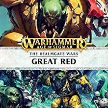 Great Red: Age of Sigmar: Knights of Vengeance, Book 3 Audiobook by David Guymer Narrated by Gareth Armstrong, John Banks, Ian Brooker, Steve Conlin, Jonathan Keeble, Stephen Perring, Luis Soto