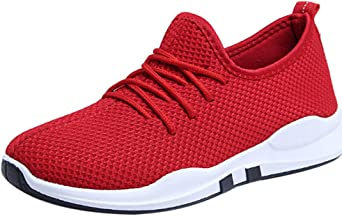 Sunnywill Sneakers Outdoor Mode,Chaussures de Course Running Sport Trail entraînement Homme Femme Basket Sneakers Running Sports Gym Maille Shoes
