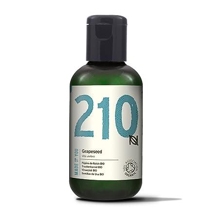 Naissance Aceite Vegetal de Semillas de Uva BIO 60ml - 100% puro, prensado en