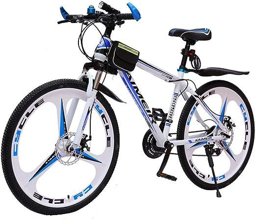 GRXXX Bicicleta de montaña Una Rueda Bicicleta de Cambio Frenos de ...