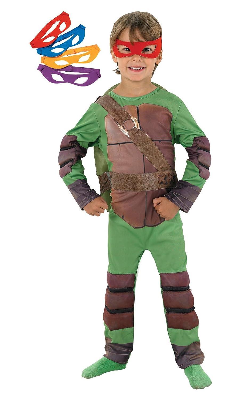 Rubies - Disfraz Tortugas Ninja de niño, talla M (I-886812M)