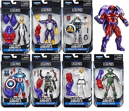 Captain America Civil War Marvel Legends Figures Wave 1 Set of 7
