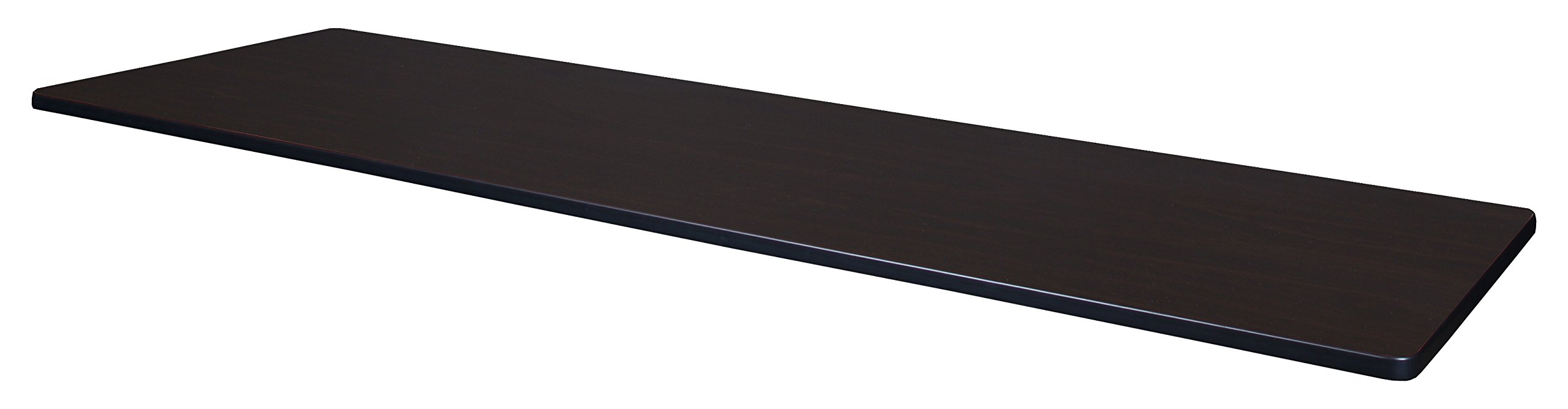 Regency 84'' x 24'' Rectangle Laminate Table Top- Mahogany/ Mocha Walnut by Regency (Image #2)